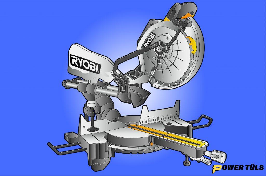 Ryobi TSS102L Miter Saw